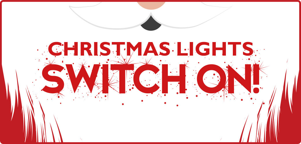 christmas lights switch on logo
