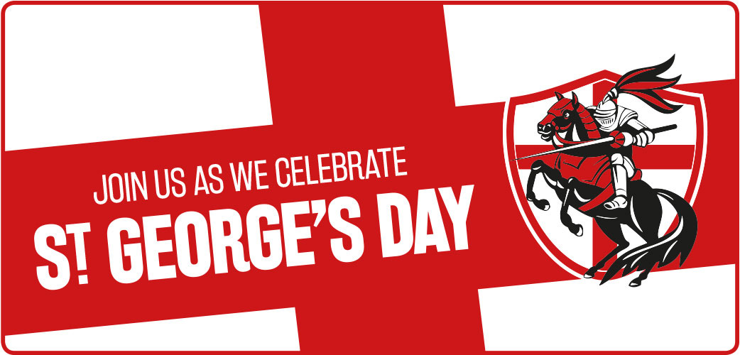st georges day logo