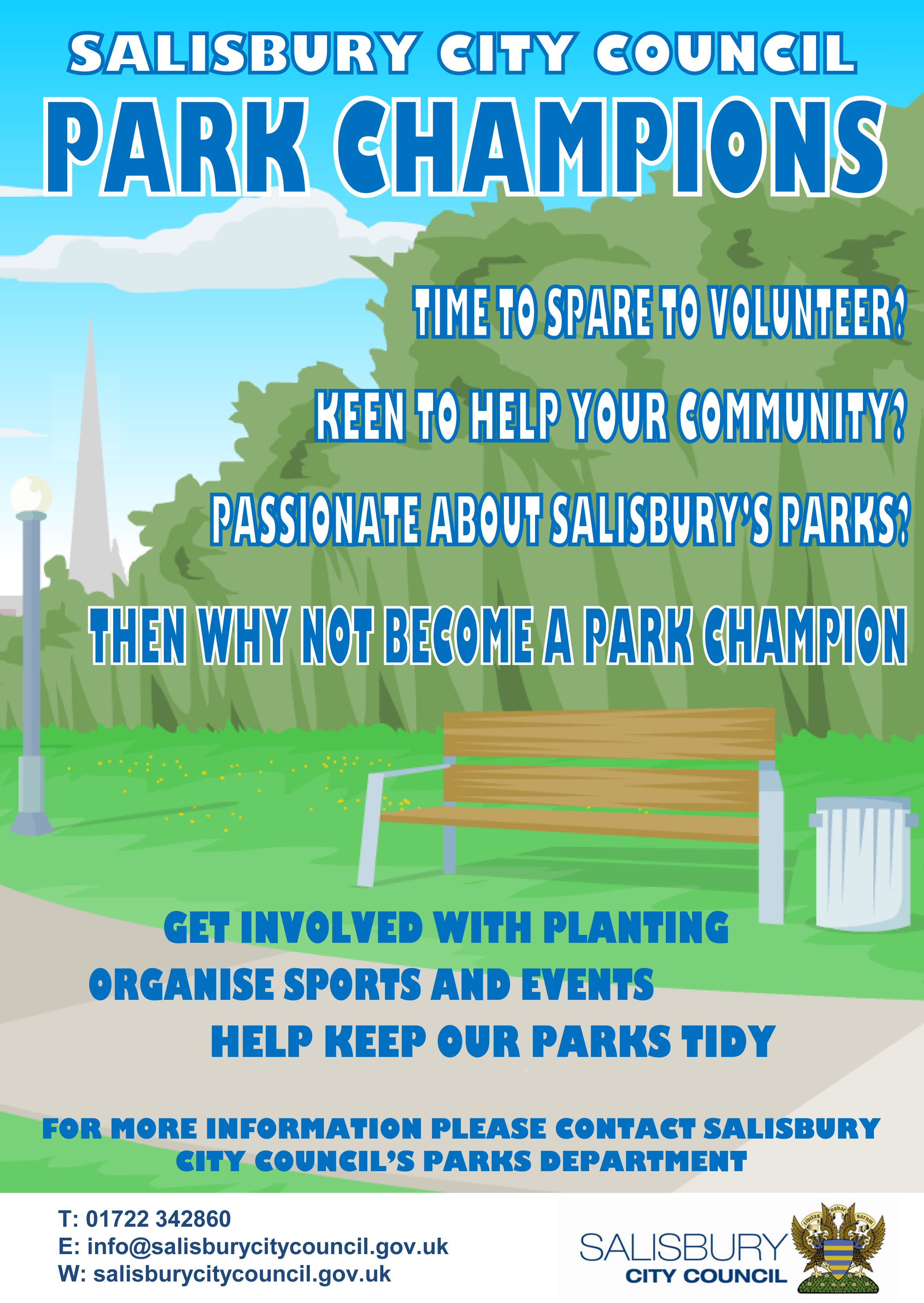 Park Champions Poster
