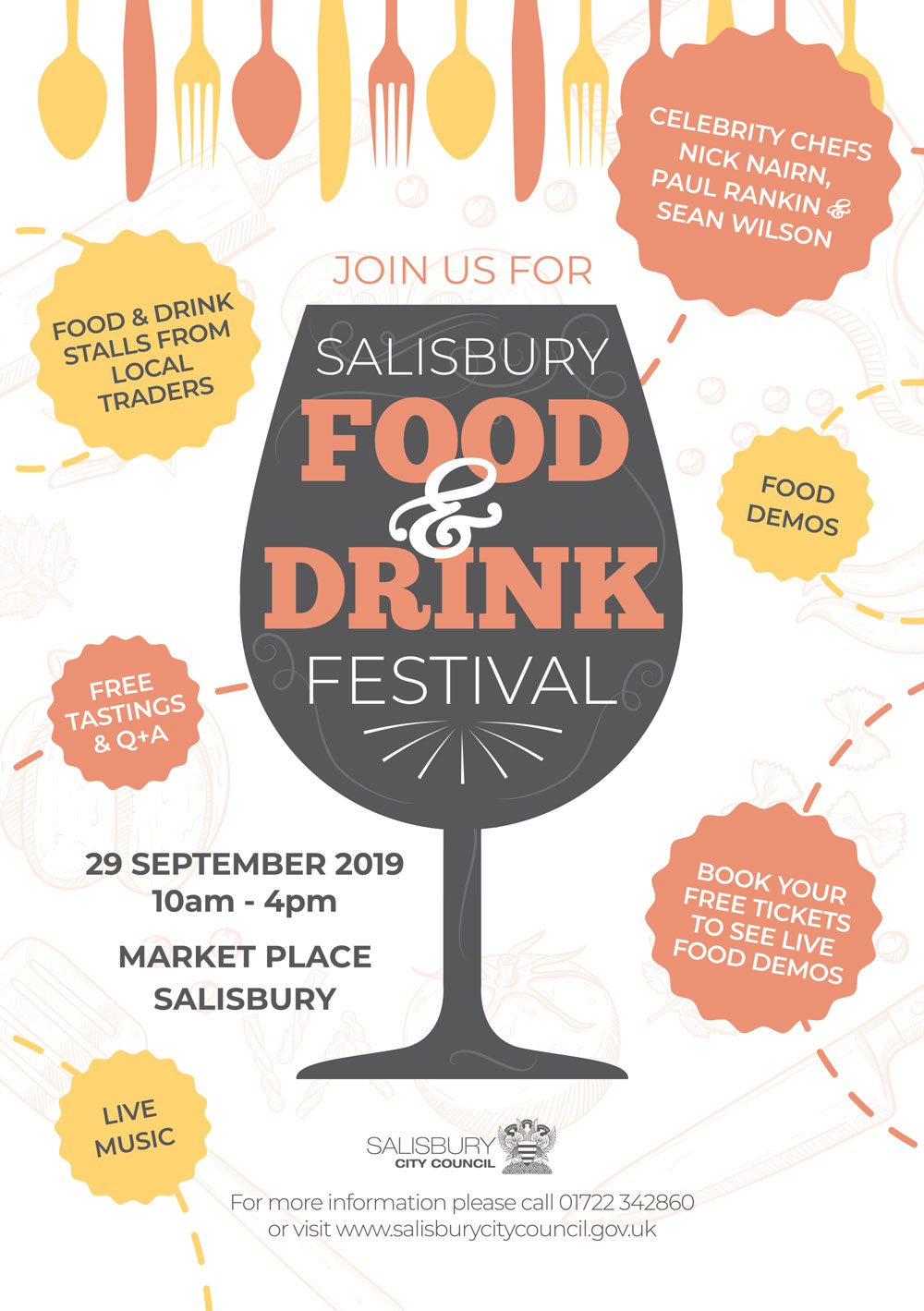 SCC Food Drink Festival 2019 Flyer Final 1