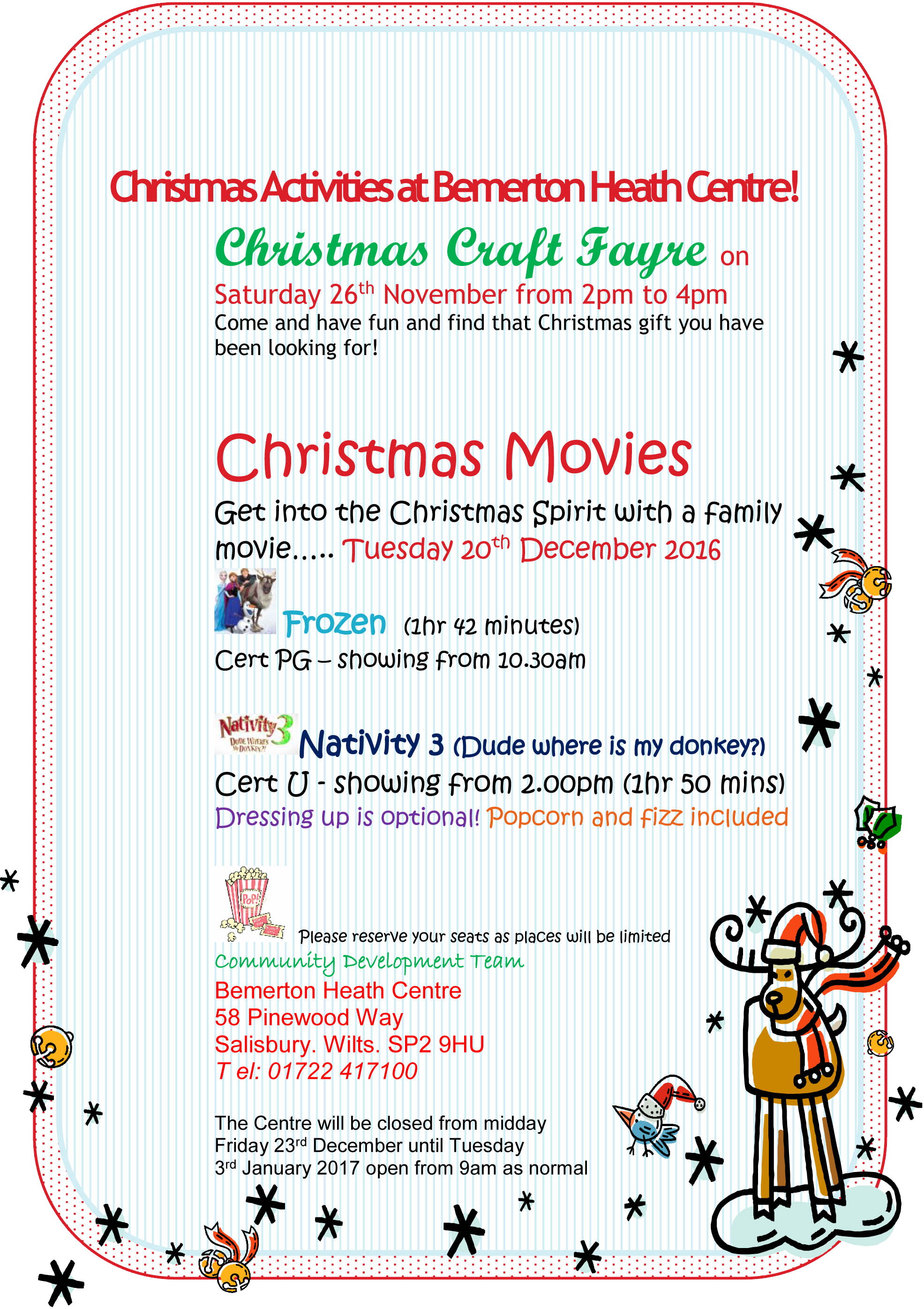DOC58252 Christmas Movie Poster 2016