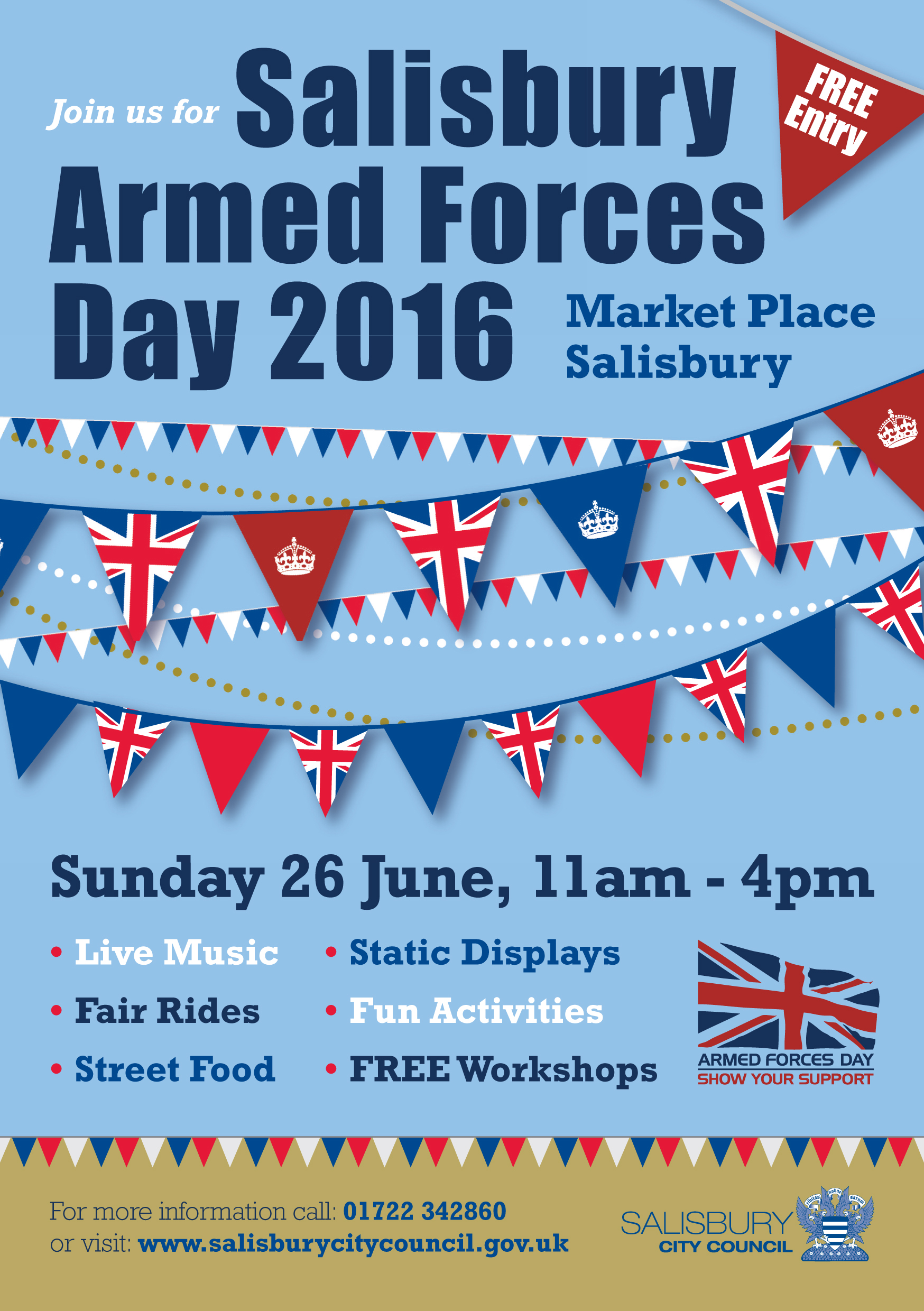 armed forces day 2016 front cover