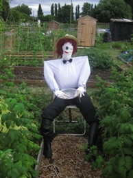Scarecrow - Waiting Waiter