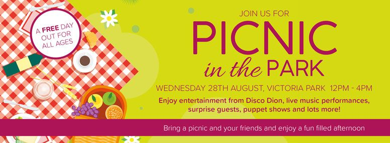 Picnic In The Park Web Banner