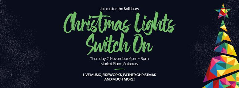 SCC Christmas Lights Switch On Website Banner
