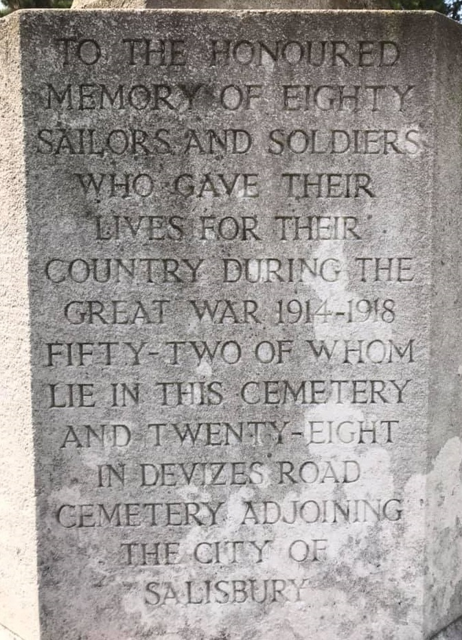London Road War Memorial Wording