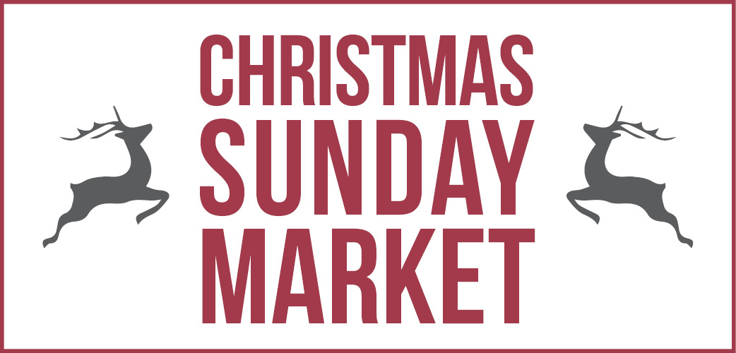 christmas sunday market logo